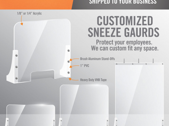B2W SneezeGuards